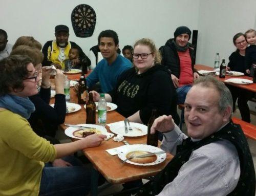 Essen für den Helferkreis in Schönberg