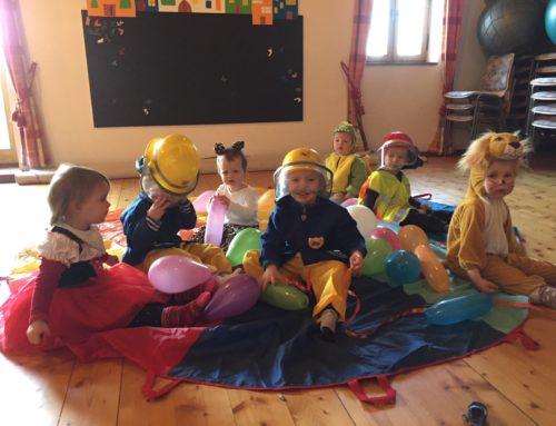 Kinderfasching der Mutter-Kind-Gruppe in Lohkirchen