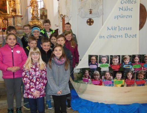Vorstellung der Erstkommunionkinder in Schönberg