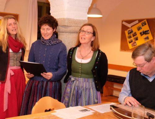 Offenes Singen des Männergesangsvereins veranstaltet