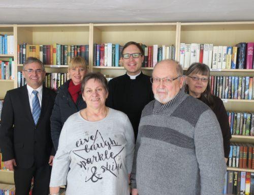 Einweihung der Bücherei in Oberbergkirchen