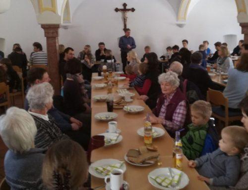 Fastenessen des Pfarrgemeinderats Lohkirchen