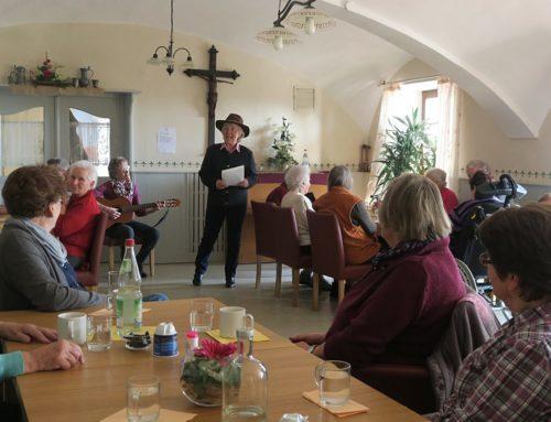 Seniorennachmittag mit Gstanzl-Singen in Zangberg