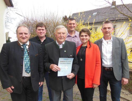 CSU-Ortsverband Schönberg hielt Jahreshauptversammlung ab