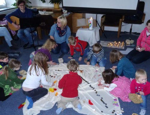 Premiere bei Kinderkirche in Oberbergkirchen