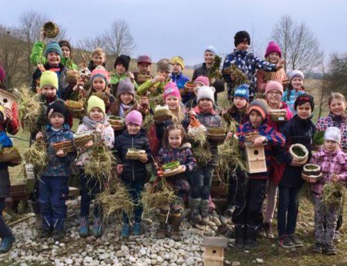 Lohkirchner Früchdal bauen Nisthilfen für den Zaunkönig
