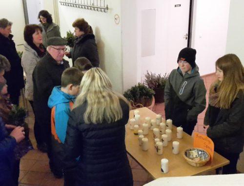 Palmbuschen- und Osterkerzenverkauf in Lohkirchen