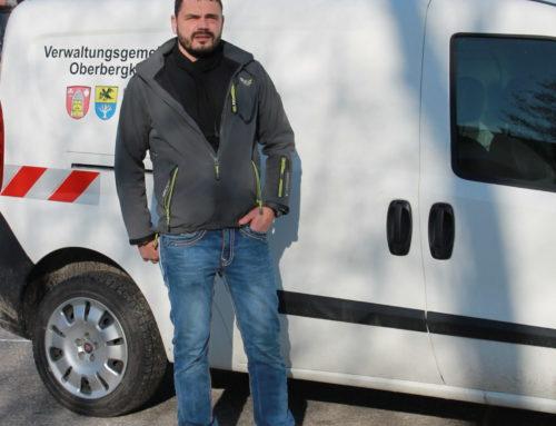 Neuer Mitarbeiter in der Verwaltungsgemeinschaft Oberbergkirchen