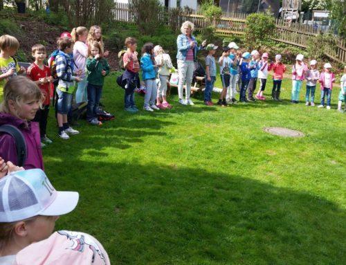 Aktionstag Musik mit der Kita Schönberg und Grundschülern