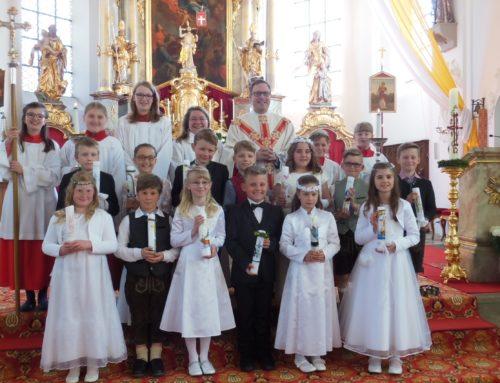 Erstkommunion in Schönberg