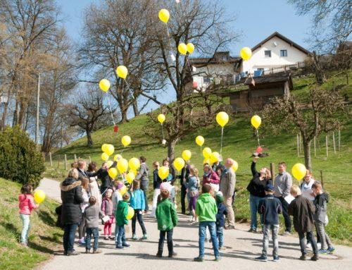 Kindergottesdienstteam Zangberg auf österlicher Wanderung