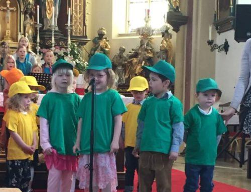 Kindergartenfest in Lohkirchen