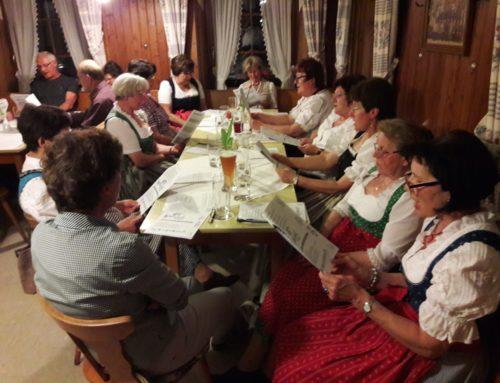 Wirtshaussingen in Schönberg ein voller Erfolg
