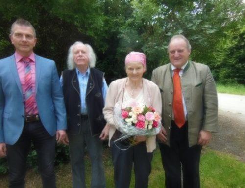 90. Geburtstag von Inge Trautner