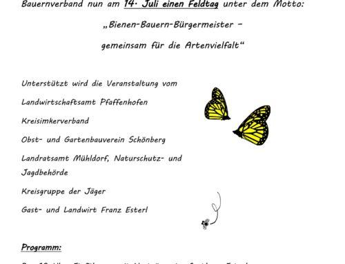 Feldtag Schönberg – Termin verschoben
