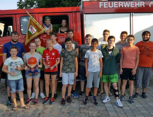 Zangberger Jugendfeuerwehr bei bayerischer Meisterschaft