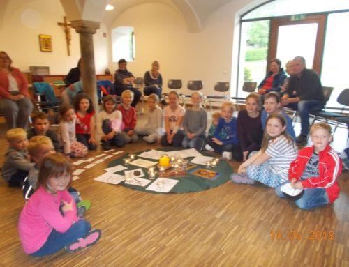 Kindermaiandacht in Oberbergkirchen
