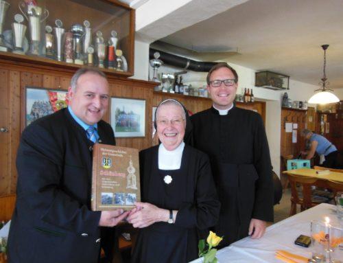 80. Geburtstag von Schwester Maria Giselind Kleindienst