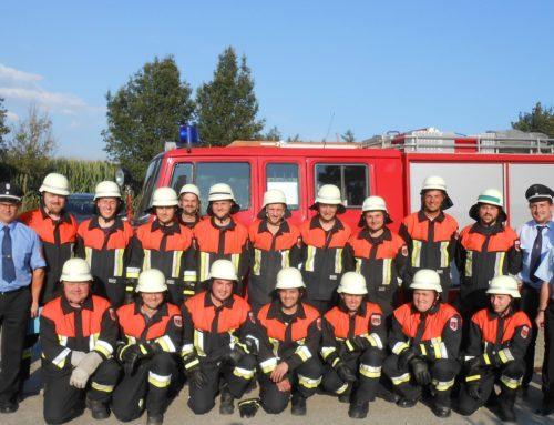 Schönberger Feuerwehrmänner legten Leistungsabzeichen ab