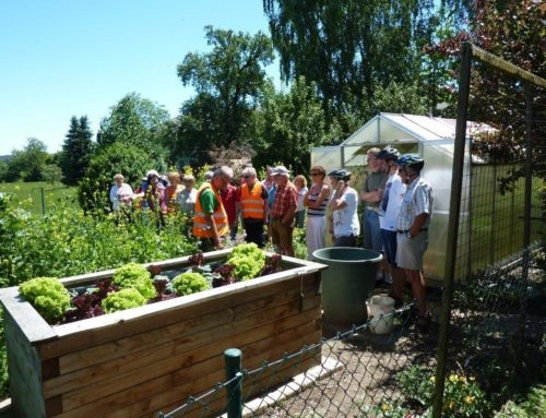 Gartenbauverein Schönberg informierte sich bei Radltour