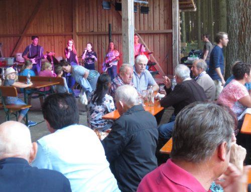 Beliebtes Waldfest der KSK Lohkirchen