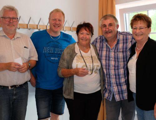 Zangberger Schafkopfmeister beim Dorfweiherfest ermittelt