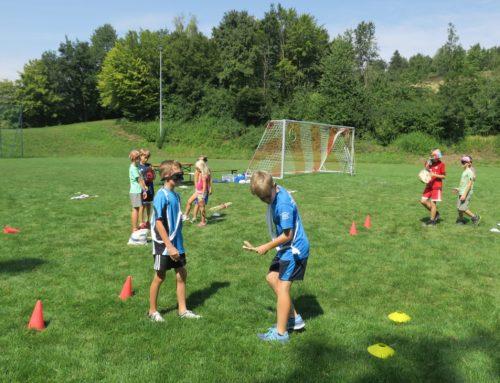 Ferienprogramm: Tennisabteilung, Olympia der Sinne, in Oberbergkirchen