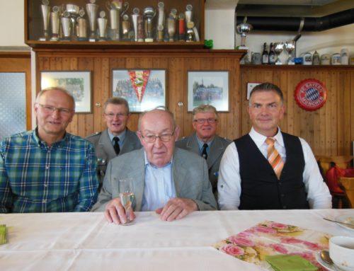 Michael Aimer feierte 90. Geburtstag