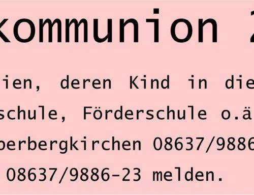 Erstkommunion 2019