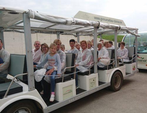 Zangberger Gartenbauverein auf Info-Fahrt
