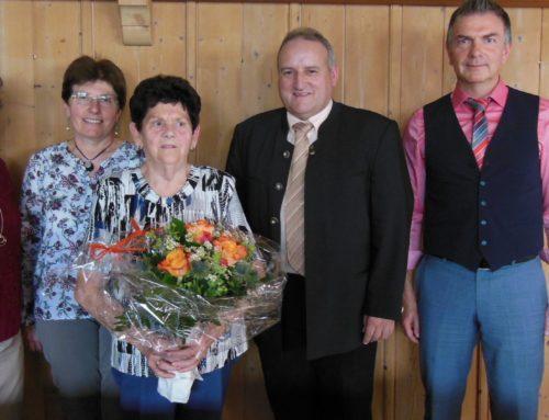 Rosa Kapser feierte ihren 85. Geburtstag