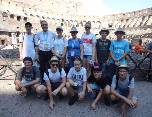 Ministranten aus dem Pfarrverband Schönberg in Rom