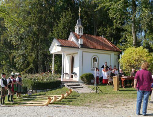 Haumüller-Kapelle in Oberbergkirchen feierte 10-Jähriges Bestehen