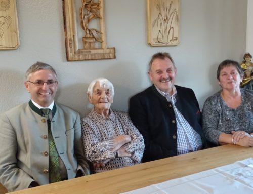 Maria Mayer feierte 95. Geburtstag