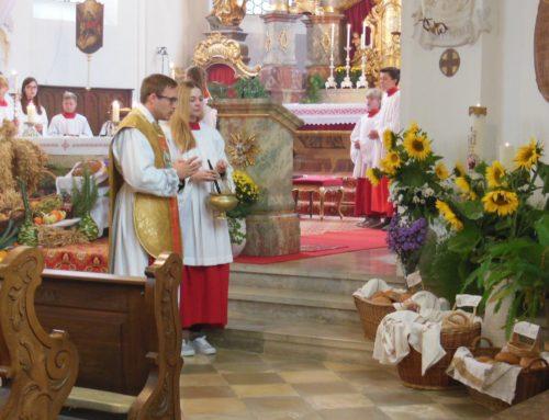 Pfarrei Schönberg feierte Erntedankfest