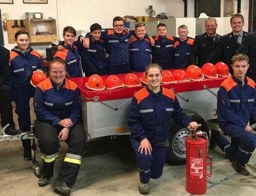 Lohkirchner Feuerwehrnachwuchs legte Leistungsprüfung ab