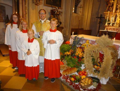 Pfarrei Aspertsham mit neuer Ministrantin