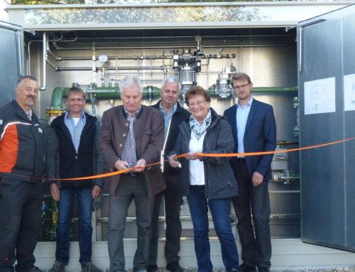 Erdgasversorgung in Zangberg nahm Betrieb auf