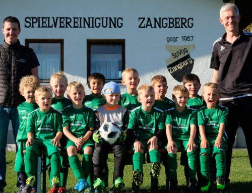 Fußballer der SpVgg Zangberg wieder mit Jugendmannschaften am Start