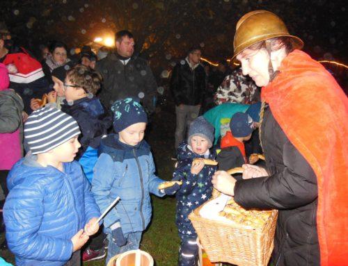 Kita Schönberg feierte Martinsfest