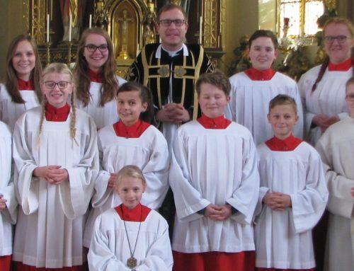 Neue Ministrantin in der Pfarrgemeinde Lohkirchen