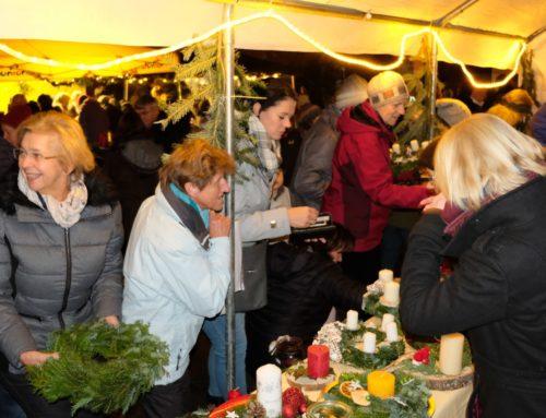 Zangberger Adventsmarkt als Besuchermagnet