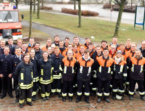Zangberger Feuerwehr bildete sich weiter