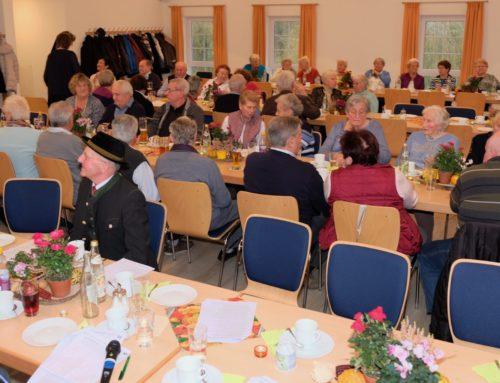 Gemeinde Zangberg und kfd veranstalteten Nachmittag für Senioren