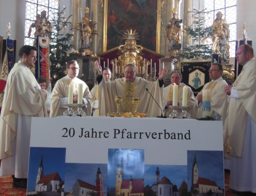 Pfarrverband Schönberg feierte 20-jähriges Bestehen