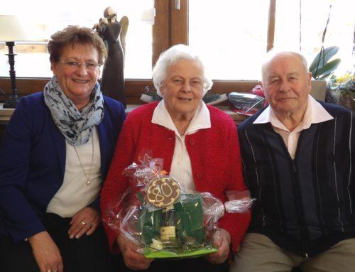 Ehepaar Schick feierte zweimal 80. Geburtstag