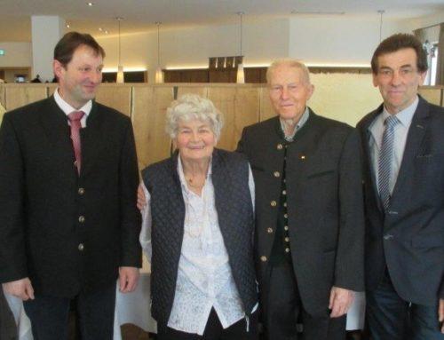 80. Geburtstag von Rosalia Niederschweiberer