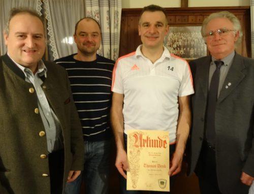 Sportverein Schönberg ehrte verdiente Mitglieder