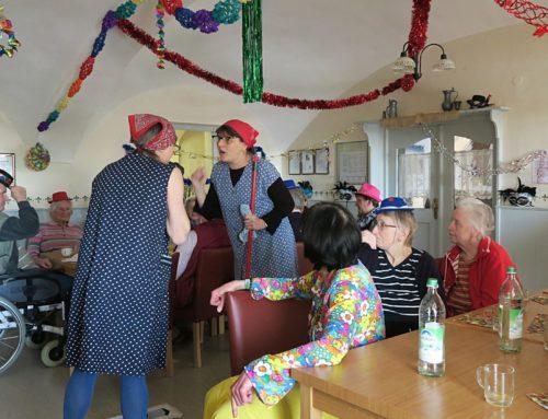 Zangberger Senioren feierten Fasching