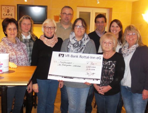 Spende an Lohkirchner Kindertagesstätte dank Betriebsjubiläum